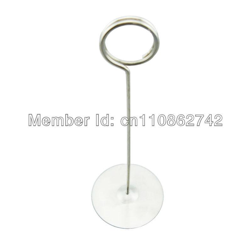 New Cm Stainless Steel Table Number Card Wedding Holder Stand - Stainless steel table numbers