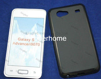 Wholesale Galaxy S Advance Cases - 1000pcs Lot TPU Pudding GEL Case Cover for Samsung I9070 GALAXY S ADVANCE