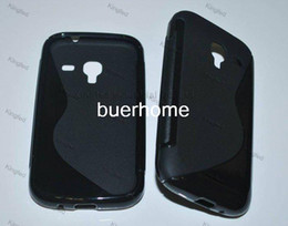 Wholesale Galaxy Ace S Line - 1000pcs Lot TPU S Line GEL Case Cover for Samsung I8160 GALAXY ACE 2