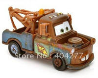 """Wholesale Tow Mater Toys - Free Shipping,PIXAR Cars 2 Alloy material """"Mater"""" Tow Truck Toy Car,length:(7.5cm approx)"""