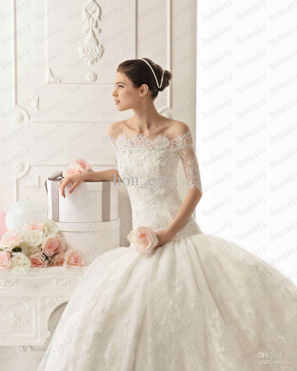 Großhandel Charming Custom Made Brautverpackungen Jacken Bolero ...