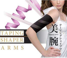 Wholesale Taping Body Sculpting - Taping Arms Shaper Spiral Body Sculpting Pressurized Wrist Strap Cuff Arm Shapers
