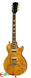 Wholesale Slash Appetite Electric Guitar - NEW Custom Signed Slash Appetite for Destruction Electric Guitar in Yellow