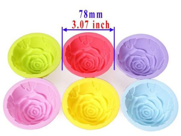 5 styles Tin Liner Baking Cup Mold Mould pudding cup Silicone Cake Muffin Chocolate Cupcake Case