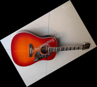 Wholesale Best Quality Acoustic Guitar - New China Acoustic Electric Guitar Fishman Presys cherry best quality