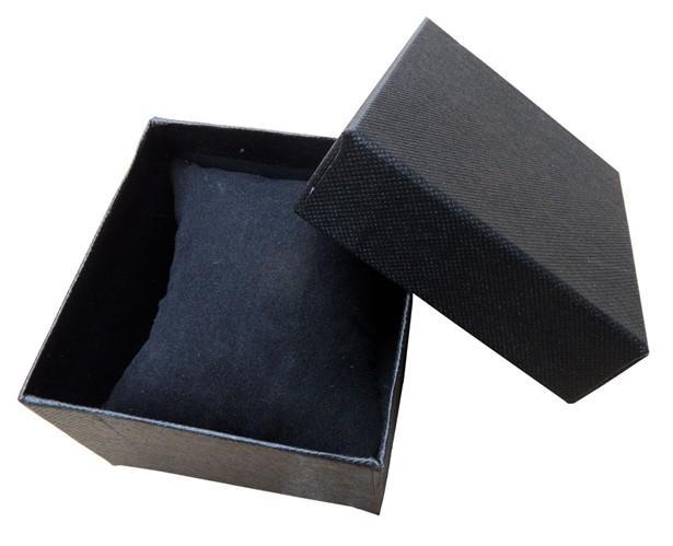 Gratis EMS 8 * 8.5 * 5,5cm Velvet Kudde Armband Box Watch Box Present Smycken Box Necklace Box