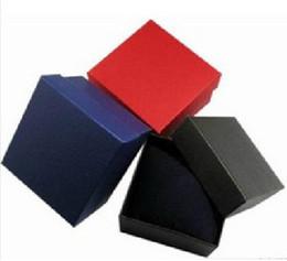 Ems relógio livre on-line-Livre EMS 8 * 8.5 * 5.5 cm Velvet travesseiro pulseiras caixa caixa de relógio caixa de jóias caixa de colar de presente 150pcs