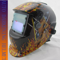Wholesale Tig Battery - Li battery+solar auto darkening electric welding mask welder helmet for MIG TIG MMA welding machine