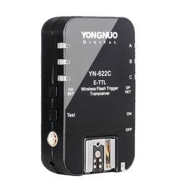 Wholesale Trigger Flash 622c - YONGNUO TTL Transceiver Single YN-622C Wireless E-TTL Flash Trigger YN622 C For Canon EOS DSLR Speedlite