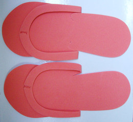 Wholesale Wholesale Spa Pedicure - 50 pairs Disposable Slipper   EVA Foam Salon Spa Slipper   Disposable Pedicure thong Slippers   Beauty Slippe