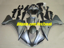 $enCountryForm.capitalKeyWord Canada - Injection mold Fairings set For 2009 2010 2011 YAMAHA YZF-R1 YZF R1 YZFR1 1000 09 10 11 grey black Fairing kit