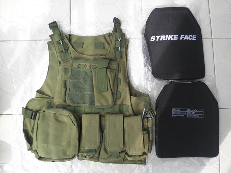 See larger image & 2018 Green Combat Tactical Bullet Proof Vest Iii Ceramic Plates Iii ...