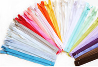 Wholesale Tailors Wholesalers - Crafter's Special Nylon Coil Zippers Tailor Sewer 9 Inch 3# nylon zipper, 23cm closed end zipper,