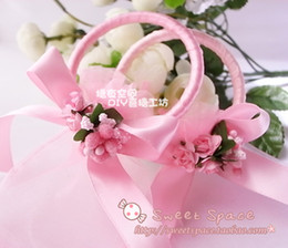 Wholesale Candy Wedding Rings - Angel ring Wedding candy bag  gift bags  jewelry bag candy bags goodie bags Gift Wrap 457