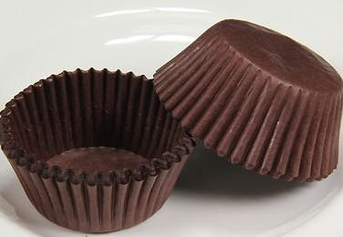 open formaat 8 cm brood cups bruin papier cupcake muffin choclate bakbakken