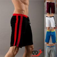 Wholesale Nylon Gym Shorts - thermal Jog Runner slacks quick-drying Men's shorts casual sports gym running Male beach boardshorts loose basketball Active Middle pant