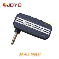 Hot selling JOYO JA-03 Metal Sound Mini Guitar Amp Pocket Amplifier Micro Headphone 3.5mm Jack MU0058