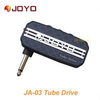Wholesale guitar pocket - JOYO JA-03 Tube Drive Sound Mini Guitar Amp Pocket Amplifier Micro Headphone 3.5mm Jack MU0059