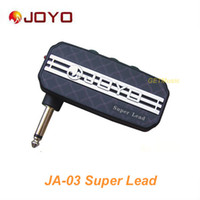 Wholesale Guitar Amp Led - JOYO JA-03 Super Lead Sound Mini Guitar Amp Pocket Amplifier Micro Headphone 3.5mm Jack MU0062