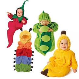 Wholesale Chilli Sleeping Bag - 5 styles-Newborn Baby sleeping bag caterpillar pea banana pengiun chilli sleeping bags