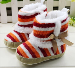 Wholesale Hot Sale Baby Girl Rainbow - New ! Hot sale Rainbow Baby shoes, Infant Shoes,Baby Boots,Kids wear winter.Warm and Beautiful