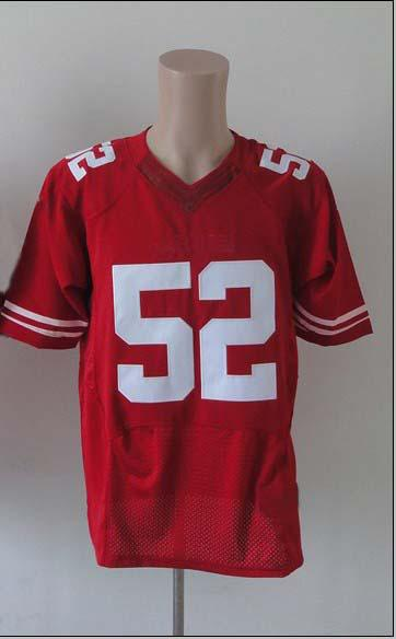 2019 2012 Elite American Football 52 Red Jerseys Rugby Jersey From Wholesaleinchina, $19.62 ...