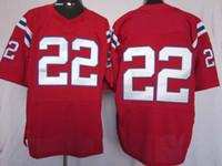 Wholesale american football jerseys wholesale - 2012 Elite American Football 22 Red Jerseys Rugby Jersey Mix Order