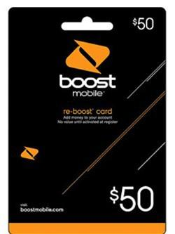 Best Boost Mobile 50 Prepaid Phone Refill Card Reload Under 50 26