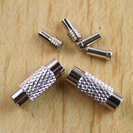 50sets nickel-vis à vis fermoir pour la chaîne en acier inoxydable faisant H0697 ? partir de fabricateur