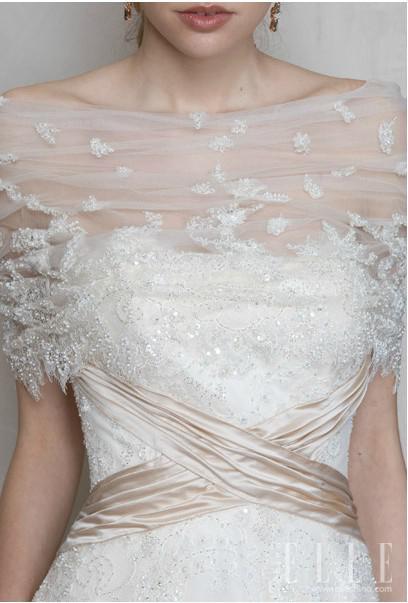 2018 White Tulle Bridal Cloak Wraps Bolero Bridal Shawl
