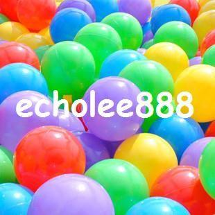 5b739ce88f 50pcs qualidade livre de envio   lot 7 centímetros esfera colorida onda do  mar piscina de água tenda PE