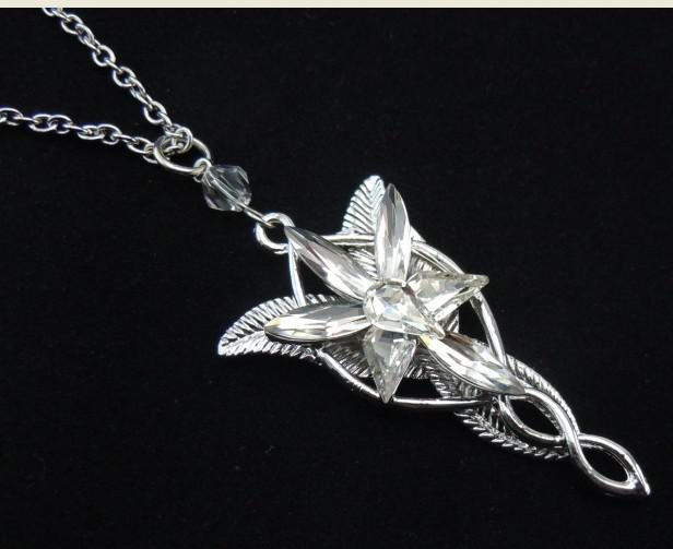 Wholesale arwen evenstar movie lotrvintage lord of the rings arwen evenstar movie lotrvintage lord of the rings pendant necklace crystal charm free shipping aloadofball Choice Image