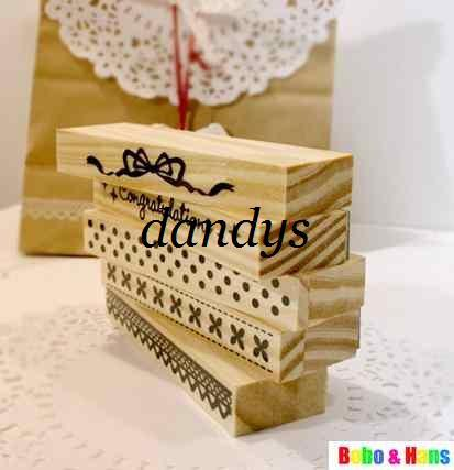 best selling Free Shipping New 1 pcs set lace designs series stamp set   PVC box   Decorative DIY funny work   Wh
