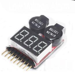 Argentina Envío Gratis 1 Unidades Nueva RC Lipo Batería Baja Tensión LED Tester Medidor 1 S -8 S Zumbador Indicador de Alarma Suministro