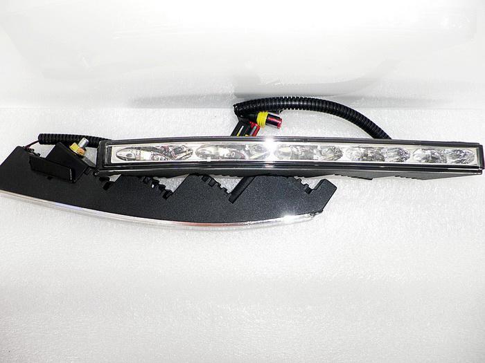 Toyota Land Cruiser, 6000K Beyaz LED Ön Tampon DRL için Işıklar LED DRL Koşu / set Süper Parlak LED Gündüz