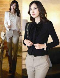 Wholesale One Button Shrug - Spring 2014 New Women Shrug One Button Suit Jacket Short Blazers Suits Lady Elegance Blazer Coat Outerwear