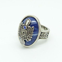Vampire rings online shopping - Min order is mix order Damon vampire ring Punk retro rings Damon diary AR125