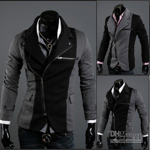 Wholesale Mens Cheap Jackets Mens Suit Jackets Multi Zipper ...