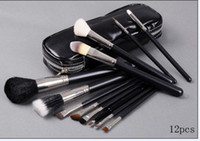 Wholesale Free gift NEW Makeup Brush Set Pouch Set