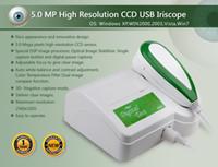 Wholesale iriscope analyzer - Sony Lens 5.0MP iriscope High Resolution Iris Scope Iridology analyster EH-900U Iriscope with Pro analyzer software
