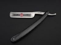 Wholesale Gold Dollar Razors - Straight Razor Shaving razor Gold dollar Alloy blade Model 208 1PCS LOT NEW