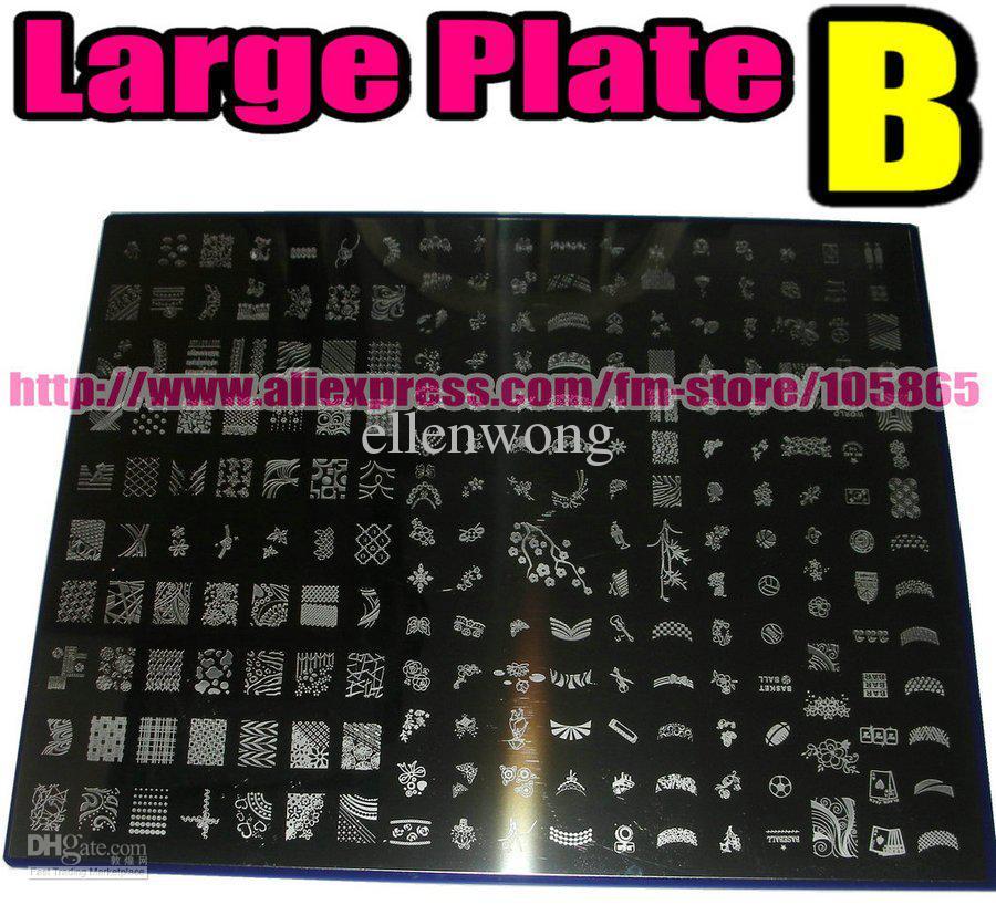 Big size 221 designs konad stamp stamping nail art diy image see larger image prinsesfo Gallery