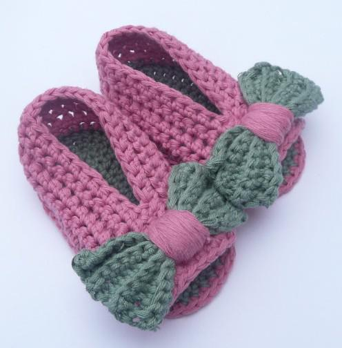 ed07e5f16 Free Printable Crochet Baby Sandal Patterns