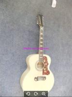 Wholesale Oem Acoustic Guitars - Custom 12 Strings Guitars 200 Classic Acoustic Guitar China Factory High Quality OEM Musical instruments