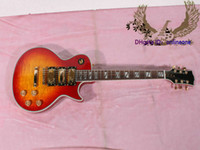 Al por mayor - Custom Shop Cherry Burst Guitarra eléctrica HighOEM Instrumentos musicales