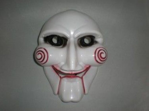 50pcs EMS The Saw mask The theme film's over chainsaw massacre Party Face PVC Mask Free shipping