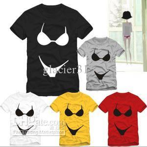 New Arrival Underwear Print Funny T Shirts Print Bikini T Shirt ...