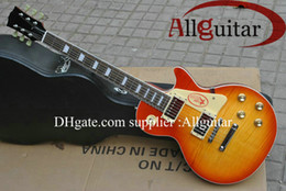 Sunburst Guitar One Canada - one piece neck standard guitar sunburst mahogany body electric guitar factory outlet