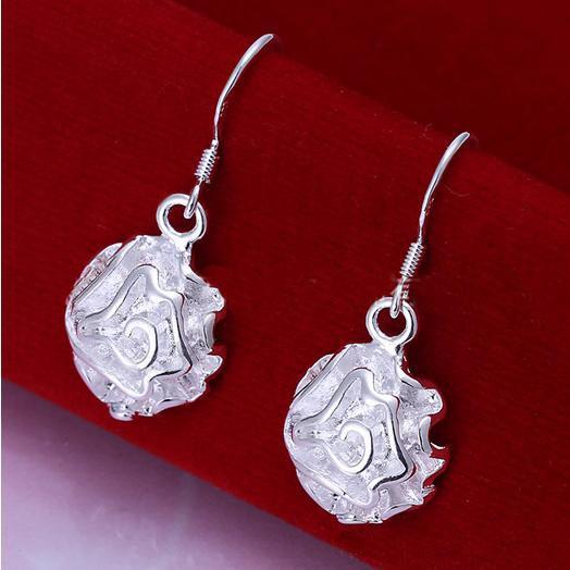 femminile molto popolare gioielli in argento set DSSS-058, alta qualità Argento 925 neckace braccialetto set
