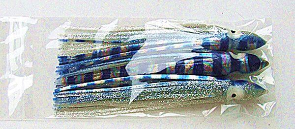 5.5inch 6.5inch Octopus Jupe Leurre De Pêche Leurre De Pêche À La Pêche À La Truite Appâts Doux Gros Gibier De Pêche Leurre Couleur Mixte